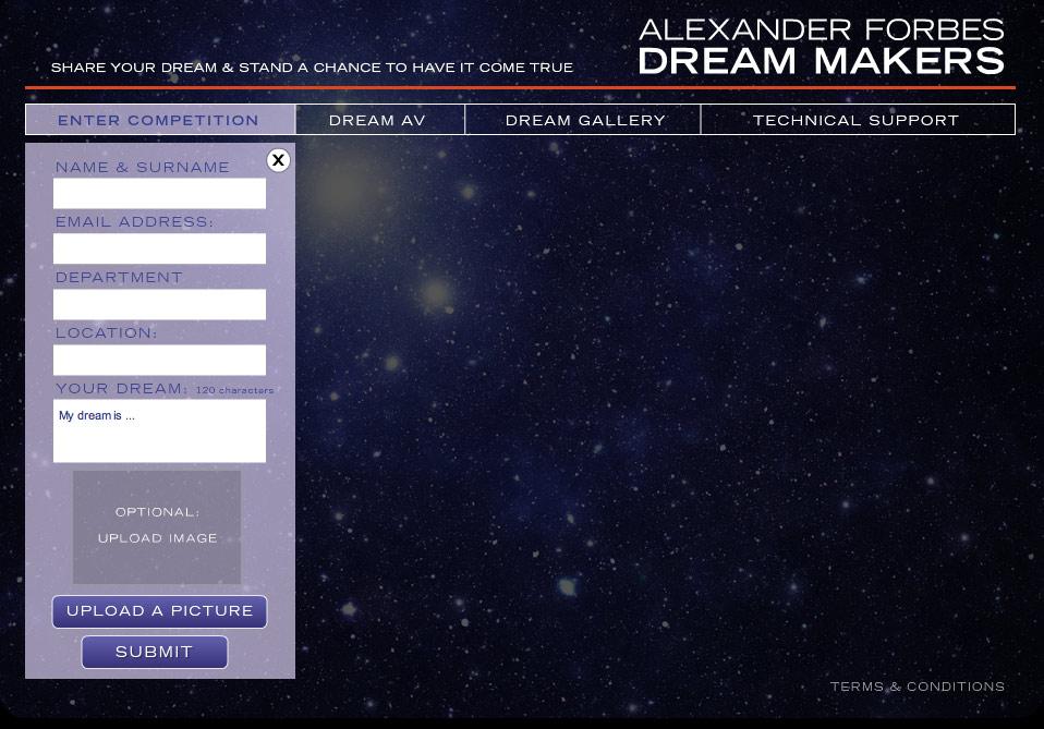 Dreamcatchers Enter Competition