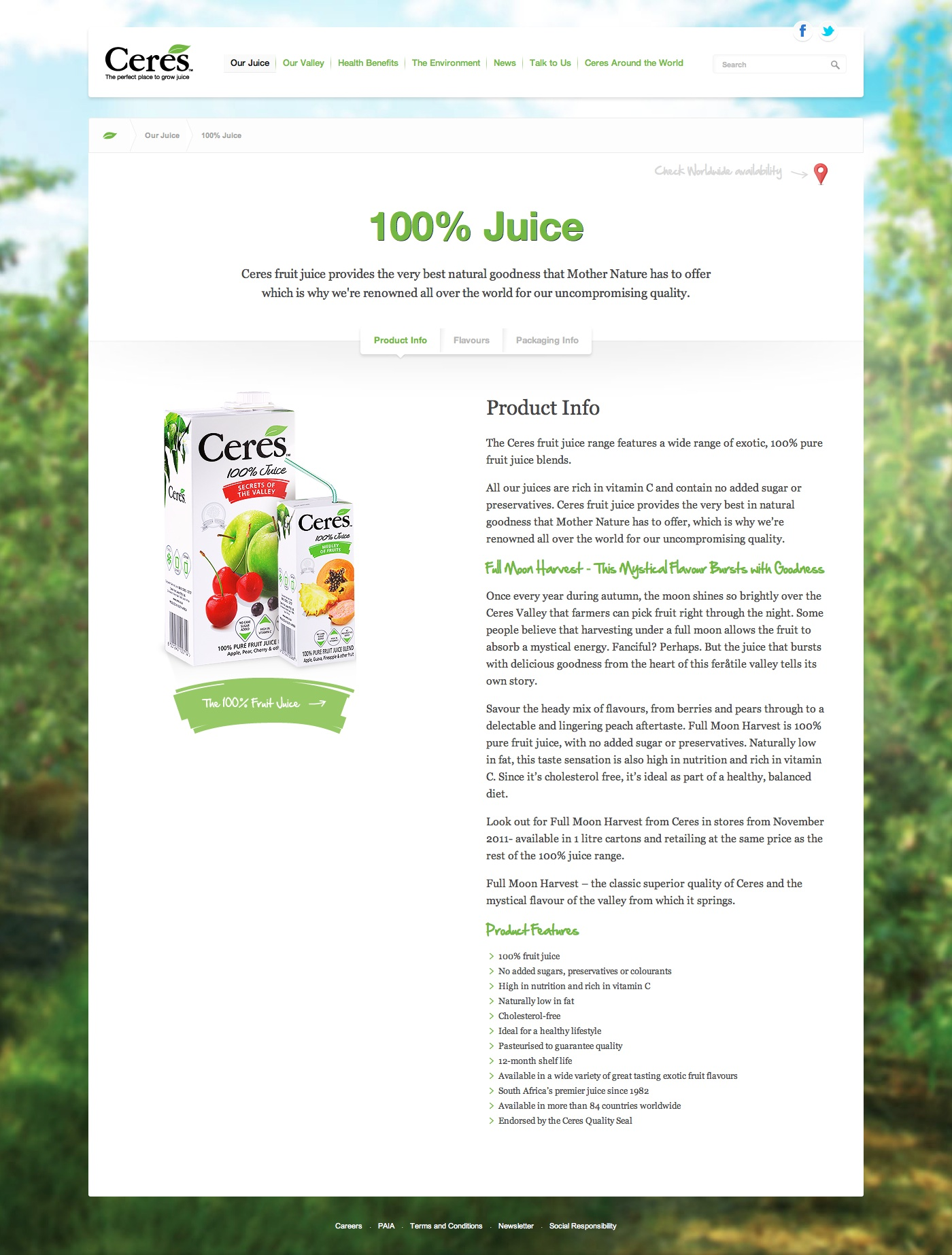 Ceres Pure Juice
