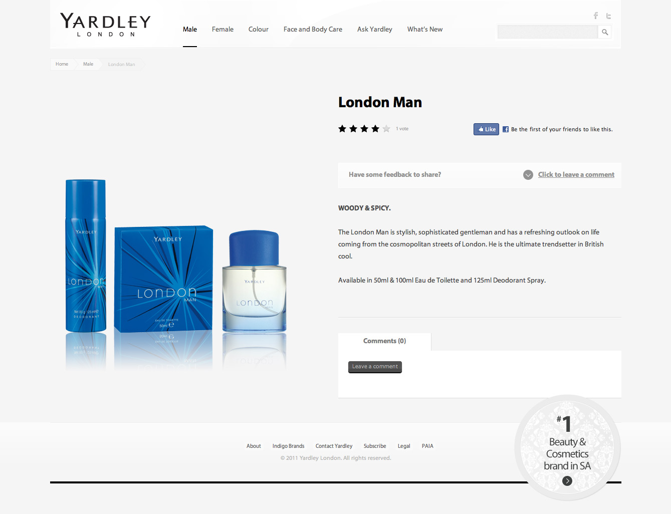Yardley-Product-Page