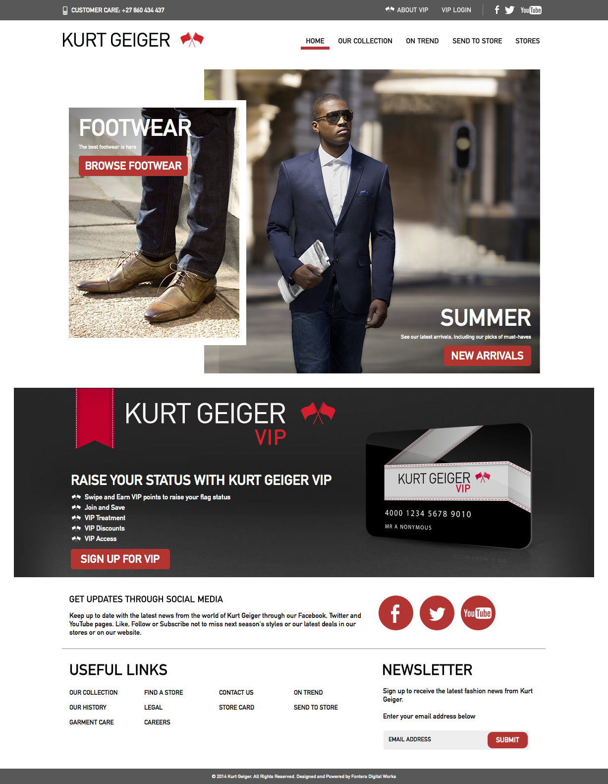 Kurt Geiger Summer 2014