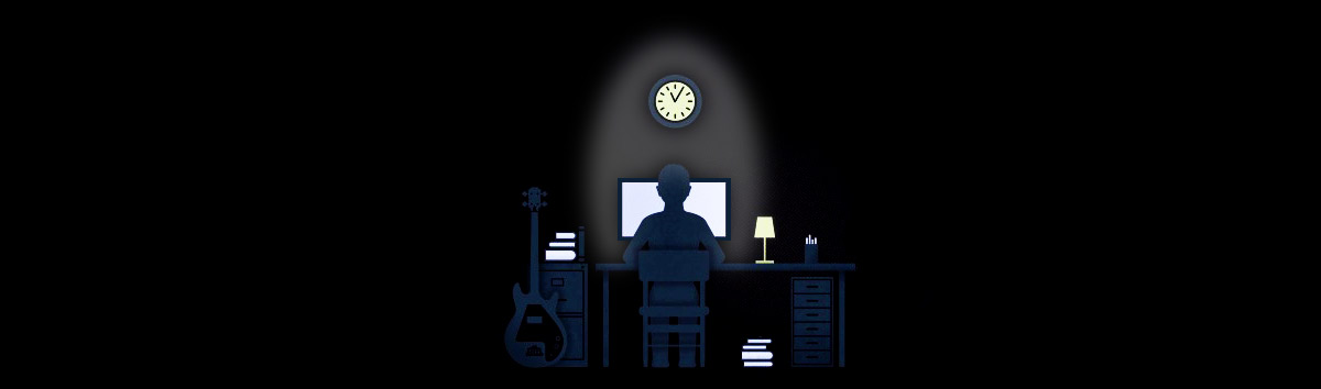 burning the midnight oil for growth hacking